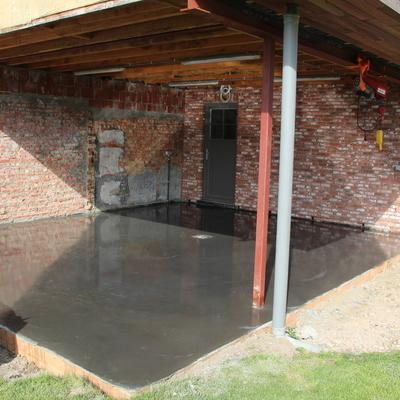 Bouwwerken Tack – Zulte - Gepolierde betonvloeren